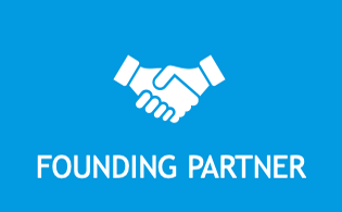 Founding partner icon for members looking to advance major projects and participate in hub governance.