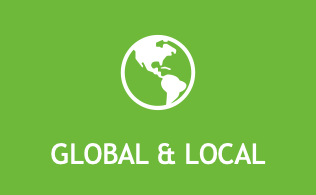 Global and local icon for members to collaborate and make meaningful contributions to solve major industry problems.